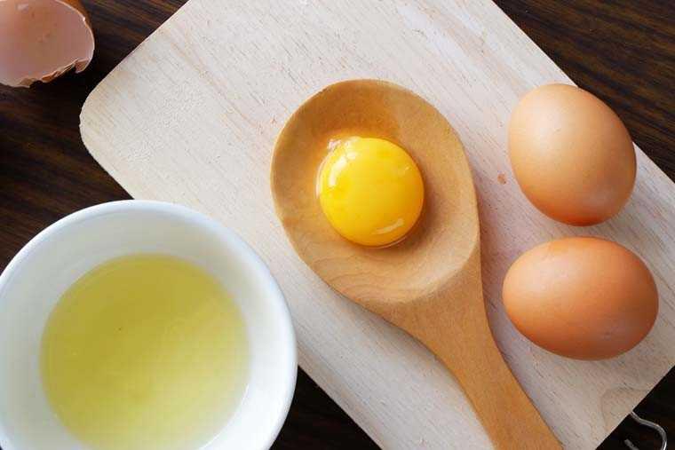 яичный шампунь глубокой очистки