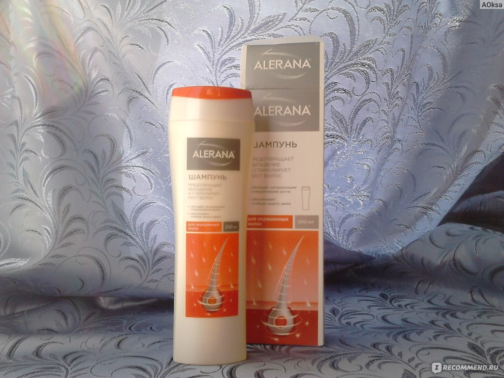 шампунь Алерана для окрашенных волос